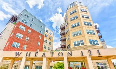 Building, Wheaton 121, 2