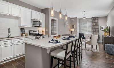 Kitchen, 500 Station Apartments, 0