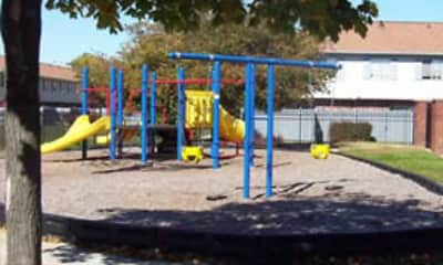 Playground, Braeburn Village Apartments Of Indianapolis, 1