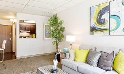Living Room, Northampton Crossing, 1