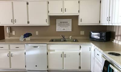 Kitchen, Countryside Apartments, 0
