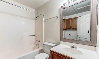 Bathroom, Starlet Square Apartments, 2