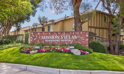 Community Signage, Mission Villa Luxury Townhomes, 2