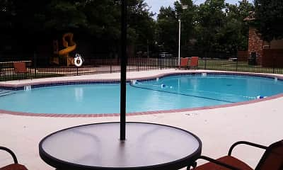 Pool, Timbers Apartments, 1