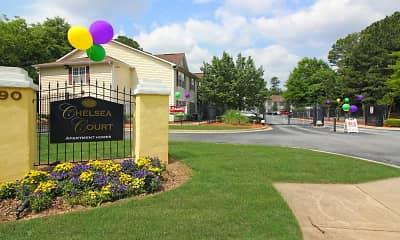 Community Signage, Chelsea Court, 0