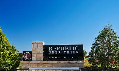 Community Signage, Republic Deer Creek, 2