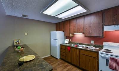 Kitchen, Cedargate, 1