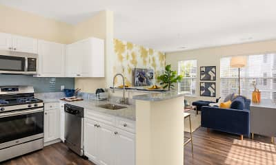 Kitchen, Residences at Stevens Pond, 1