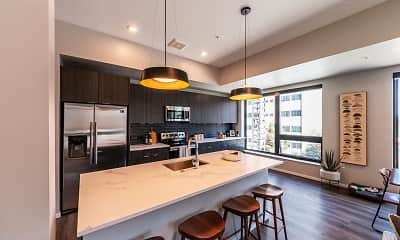 Kitchen, Milo Apartments, 1