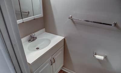 Bathroom, Crescent Ridge, 2
