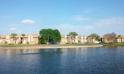 Lake, Abbey at Northlake, 2