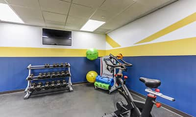 Fitness Weight Room, Press House, 2