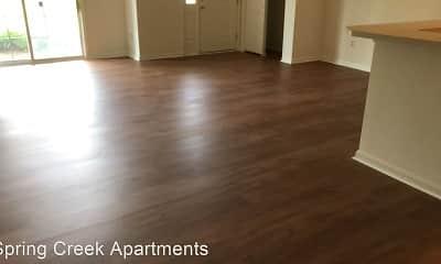 Living Room, Spring Creek Apartments, 1