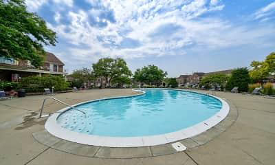 Pool, Carlton Apartments, 0