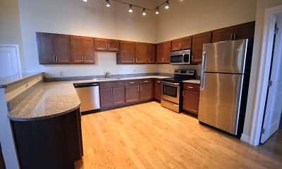 Kitchen, Albany Lofts at One Broadway, 1