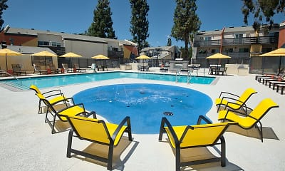 Pool, Horizon Apartment homes, 1