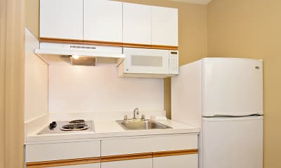 Kitchen, Furnished Studio - San Antonio - Airport, 1