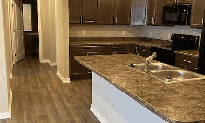Kitchen, Parkside Apartments, 0