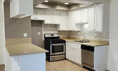 Kitchen, Alders Apartment Company, 2