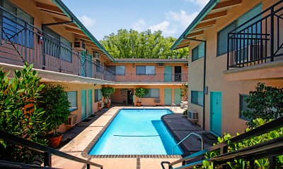 Pool, Mar Vista Apartments, 1