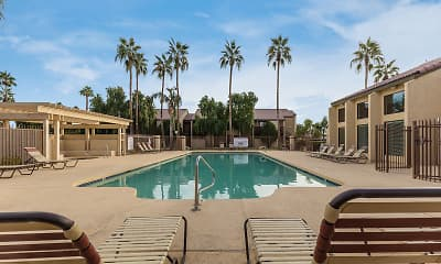 Pool, Bell Cove Apartments, 2