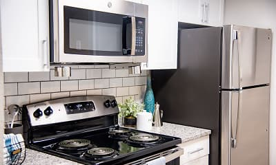 Kitchen, The Cooper Forest Acres, 2