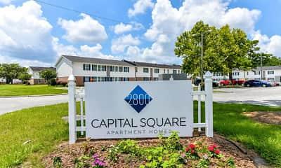 Community Signage, 2800 Capital Square, 2