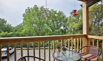 Patio / Deck, High Ridge Apartments, 1