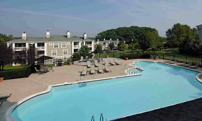 Pool, Stonington Farm Apartments, 1