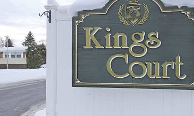 Community Signage, Kings Court, 2