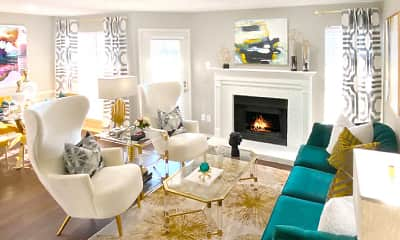 Living Room, Preston Village, 1
