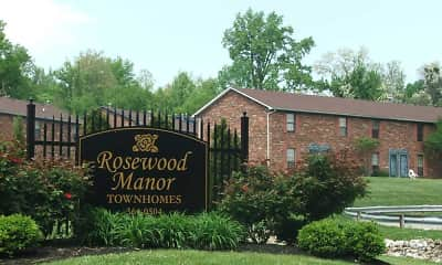 Community Signage, Rosewood Manor Townhomes, 0