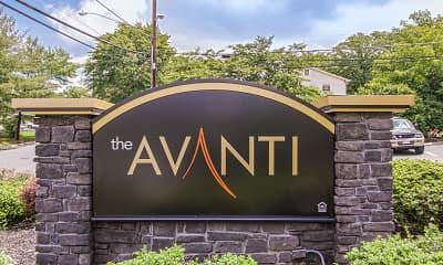 Community Signage, The Avanti, 2