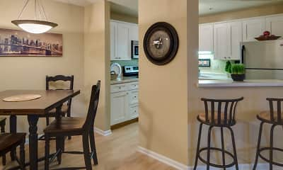 Dining Room, Highland Ridge, 1
