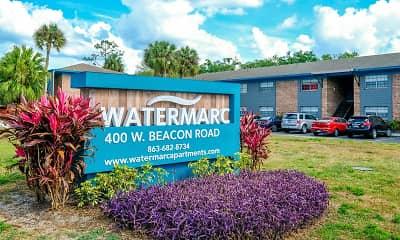 Community Signage, Watermarc Apartments, 2