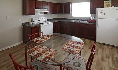 Kitchen, Bay Terrace Apartments, 1
