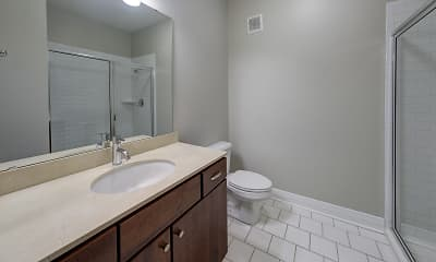 Bathroom, The Maxwell Apartments, 2