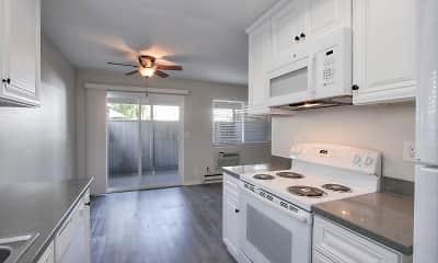Kitchen, Four Twenty Union Apartments, 0