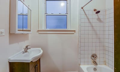 Bathroom, 200 Central, 2