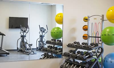 Fitness Weight Room, The Deco, 2
