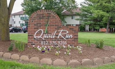 Community Signage, Quail Run Of Columbus, 2