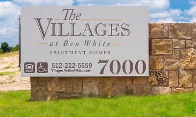 Community Signage, The Villages at Ben White 55+, 0