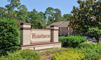 Community Signage, Hawthorne Apartments, 2