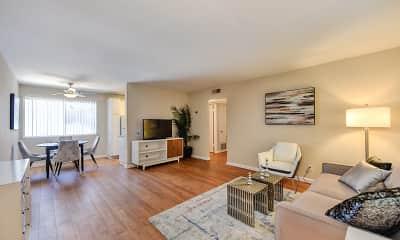 Living Room, Glenwood Garden, 0