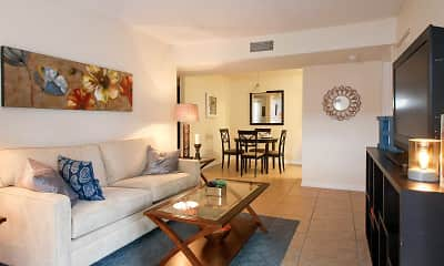 Living Room, Harbour Cay, 1