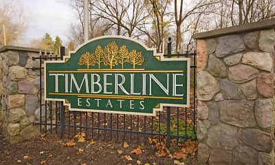 Community Signage, Timberline Estates, 2