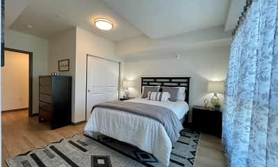 Bedroom, Sixth & Alder, 2