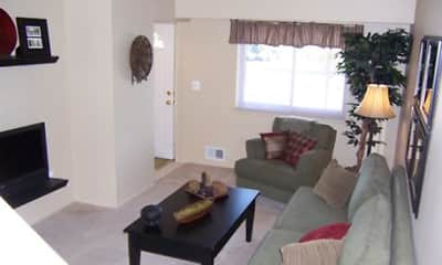 Living Room, Creekside Village, 2