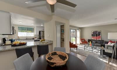 Dining Room, West Oaks Apartments, 0