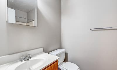 Bathroom, The Annex of New Albany Student Housing, 2